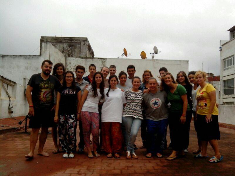VoluntariosPrimeraSemanaMarruecos2013