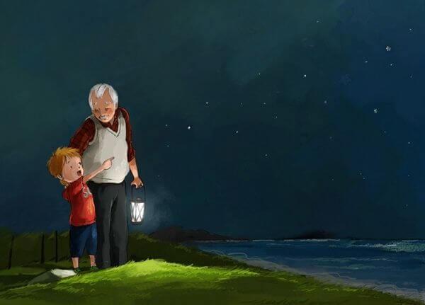 Nieto-y-abuelo-mirando-las-estrellas[1]