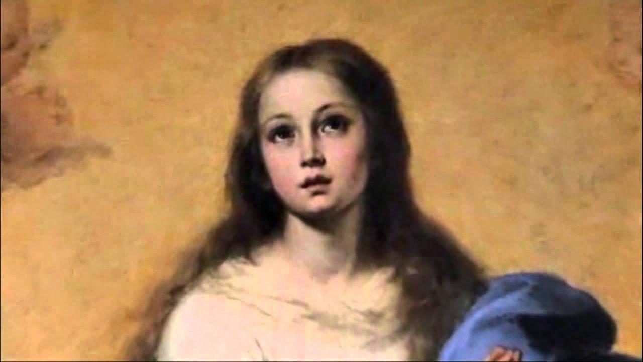 La Inmaculada Concepción: se trata de María.