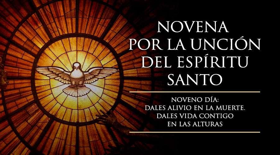 NOVENA POR LA UNCION DEL ESPIRITU SANTO. Para Los que caminan Emaús, para los jóvenes en Confirmación, para todos los que cuidais vuestra fe y la fe de la comunidad, por las vocaciones franciscanas.