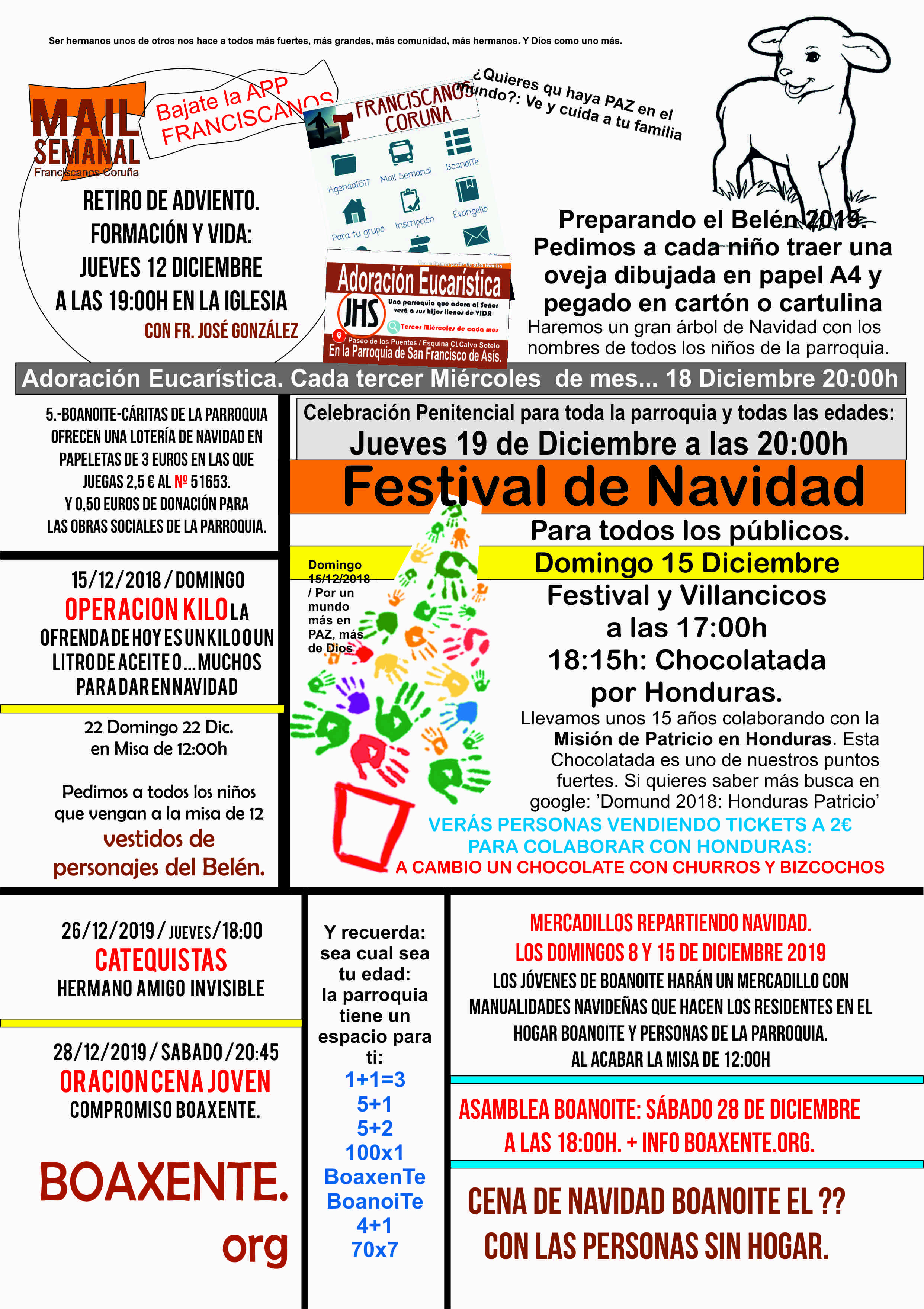 Parroquia y Festival 15D